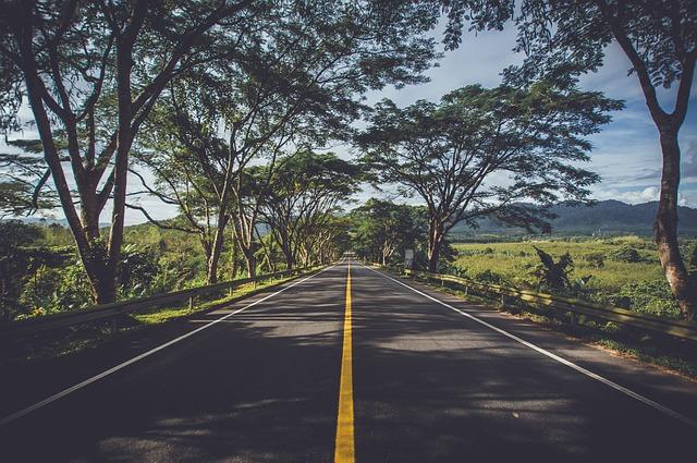 udržovaná silnice