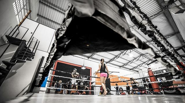 žena v ringu