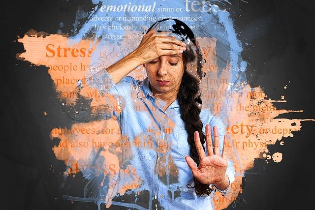 stres a žena
